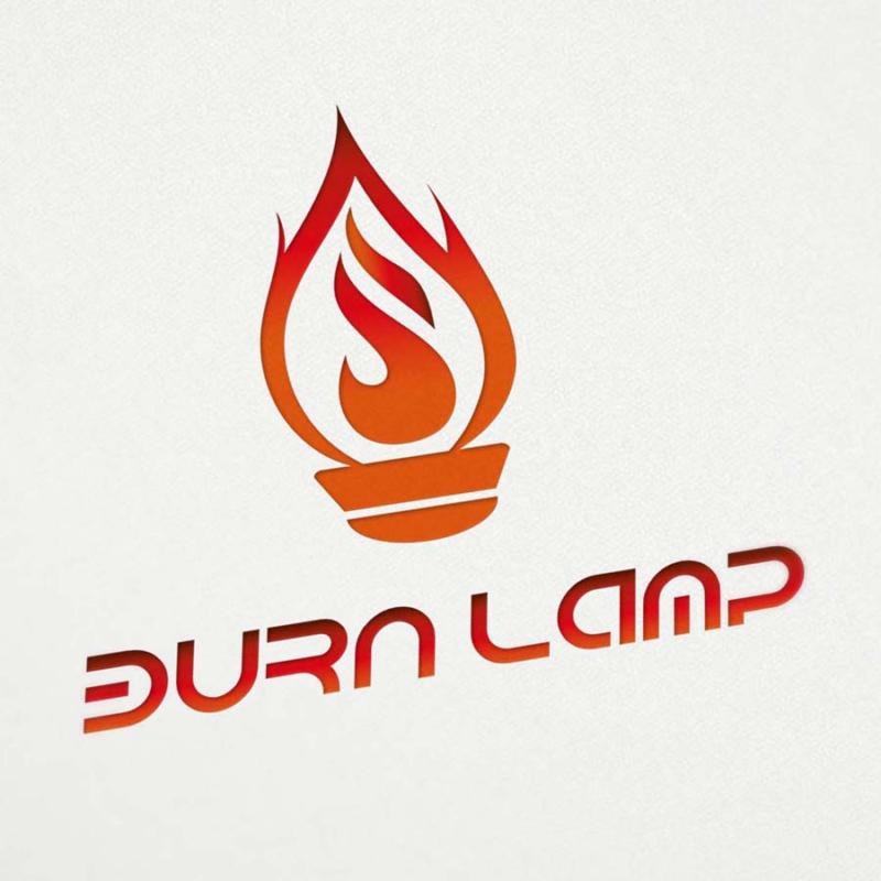 burn lamp logo design 15logo. Black Bedroom Furniture Sets. Home Design Ideas