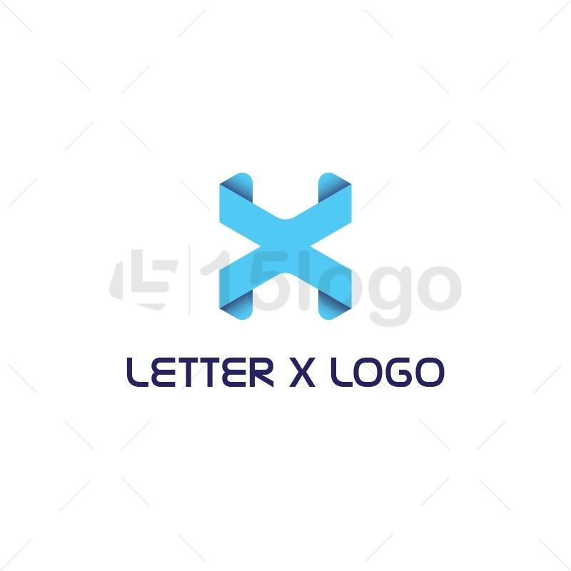 Letter X Logo : 15logo