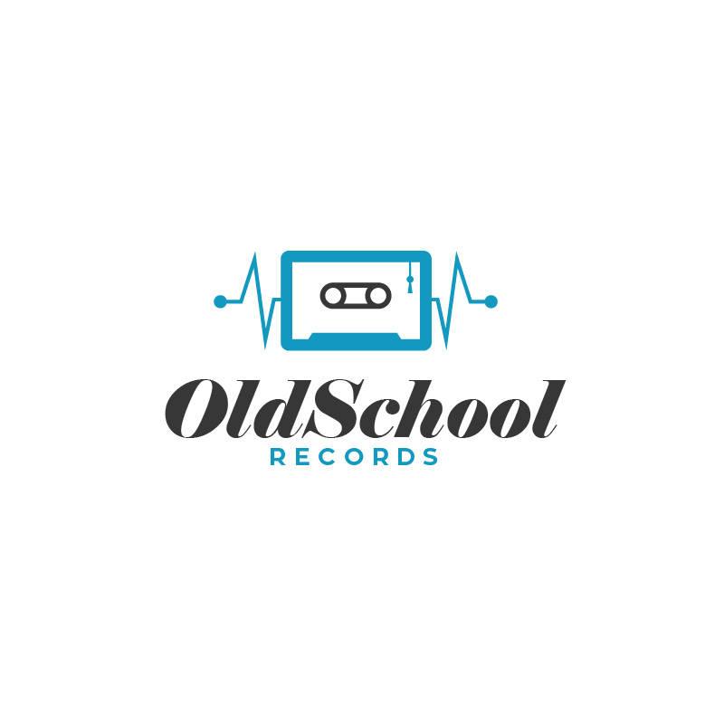 old school logo template 15logo