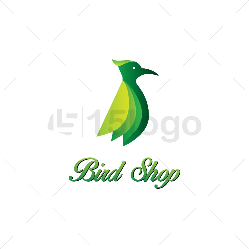 Bird Shop Logo