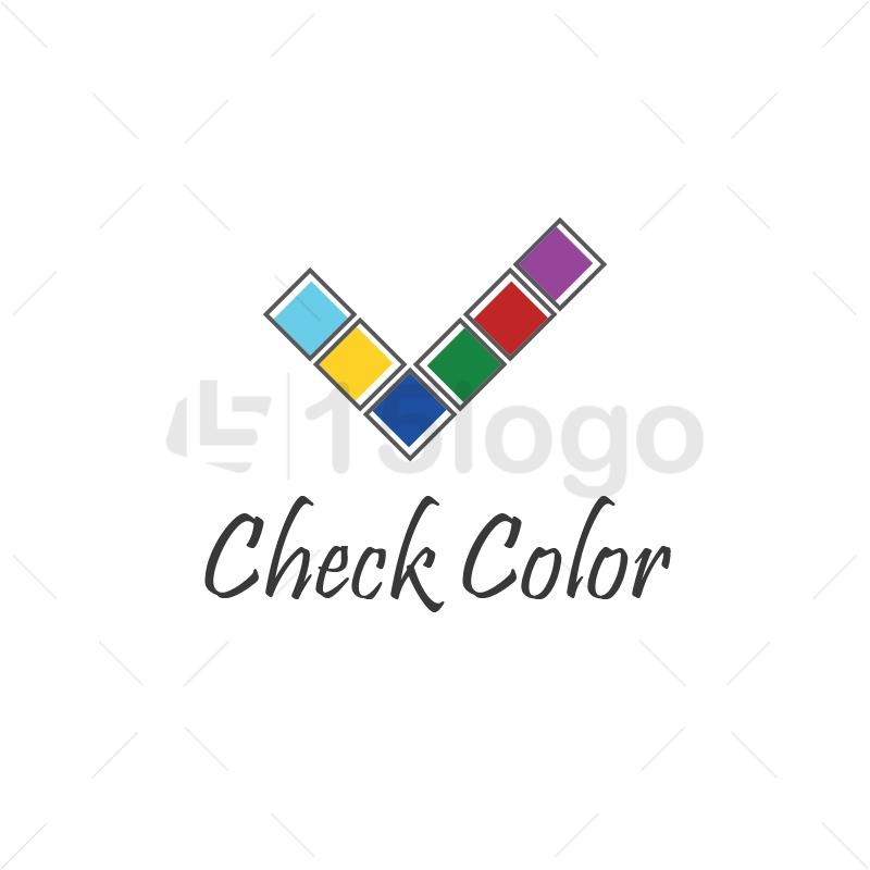 Check color Logo Template