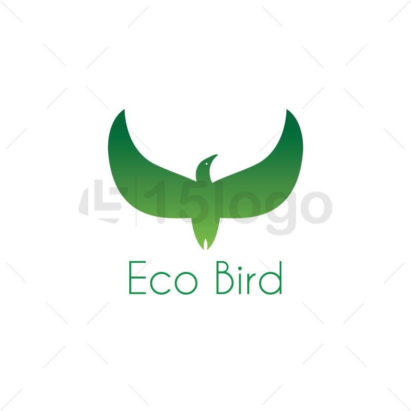 Eco Bird Logo Design