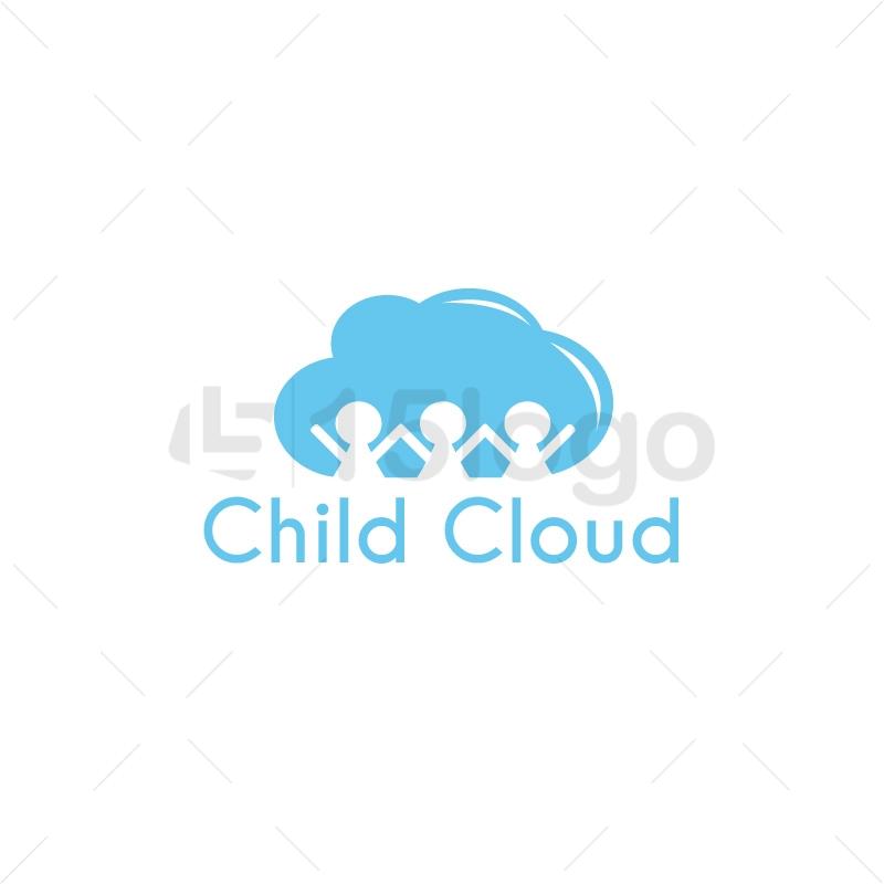 Child Cloud Creative Logo
