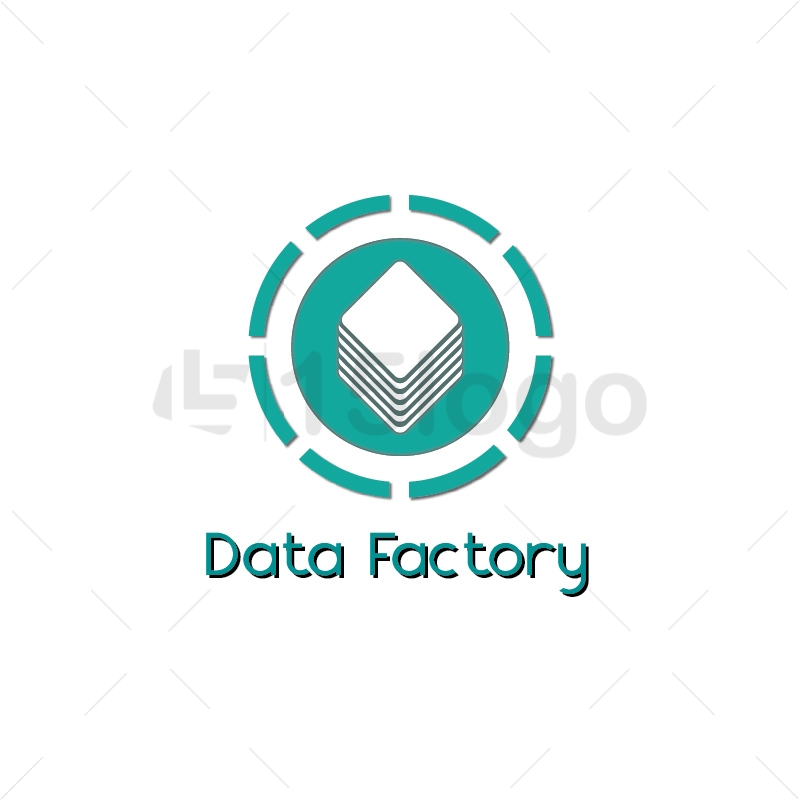 Data Factory Logo Design