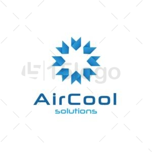 air cool logo template