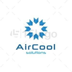air cool logo template