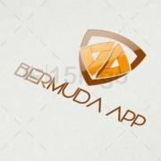 bermuda app online creative logo