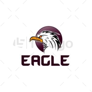 eagle shop logo design