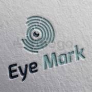 eye mark shop logo design