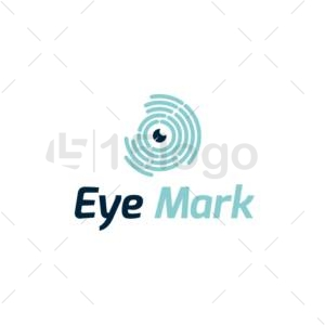 eye mark shop logo design