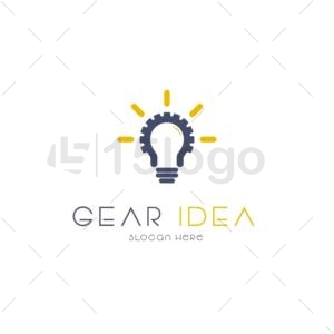 gear idea online logo template