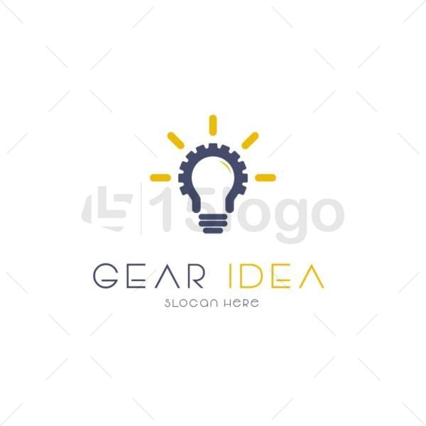 gear idea online logo template