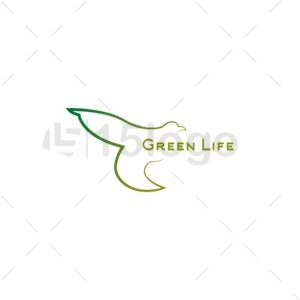 green life online creative logo