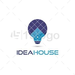 idea house logo design