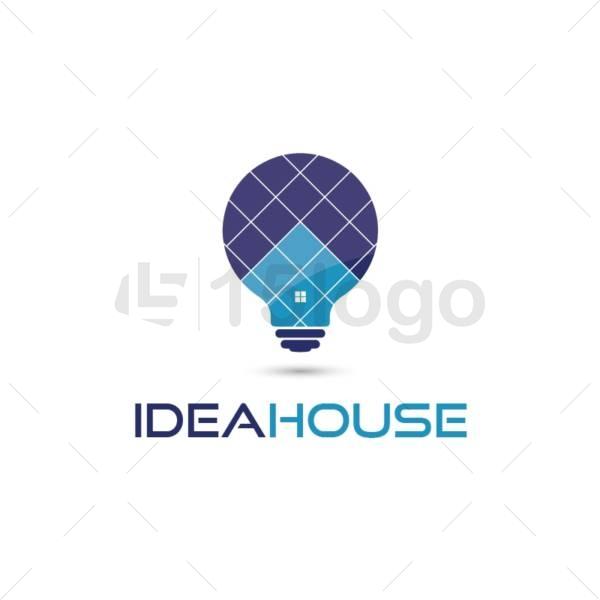 idea house logo design