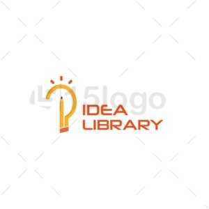 idea library online logo template