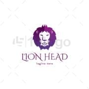 lion head online logo design