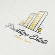 prestige estate logo design