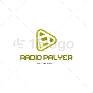 radio palyer online logo design