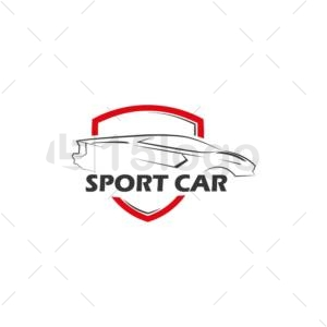 sport car online logo design