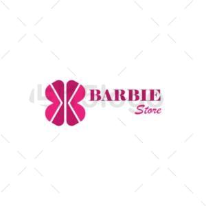 barbie store logo design