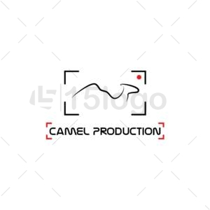camel production creative logo