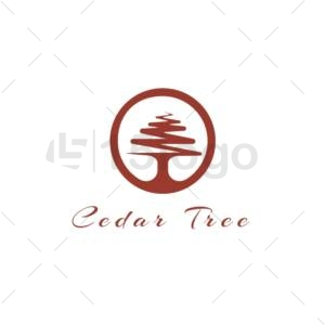 cedar tree logo design