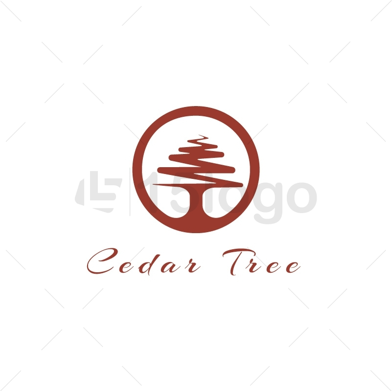 Cedar Tree Logo Design