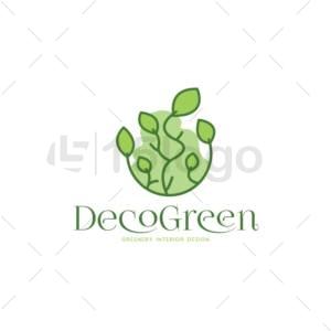 decogreen logo template