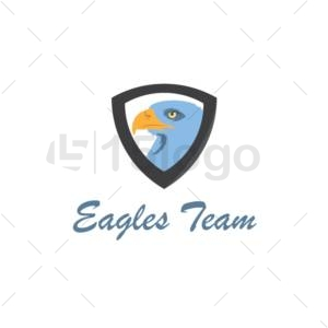 eagle team logo design