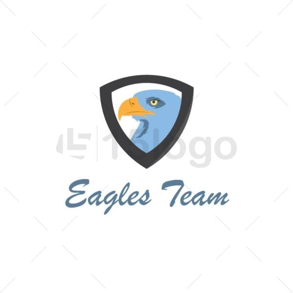 eagle team logo design