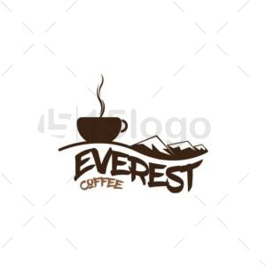 everst coffee logo template
