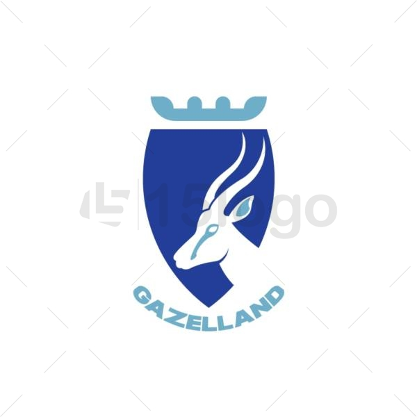 gazelland logo design