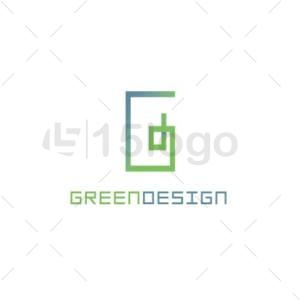 green design logo template