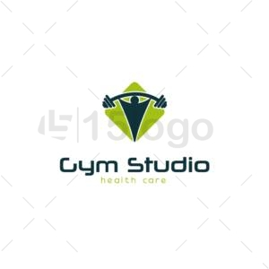 gym studio logo design