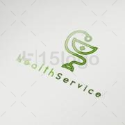 health service logo design