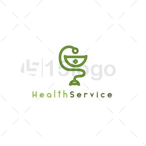 health service logo design