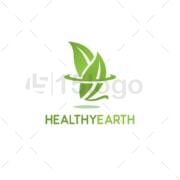 health earth online creative logo
