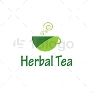herbal tea logo design