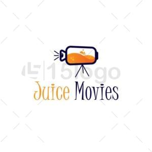 juice movies logo design