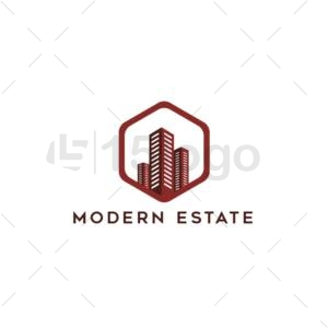 moderne estate creative logo