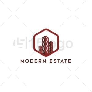 moderne estate creative logo