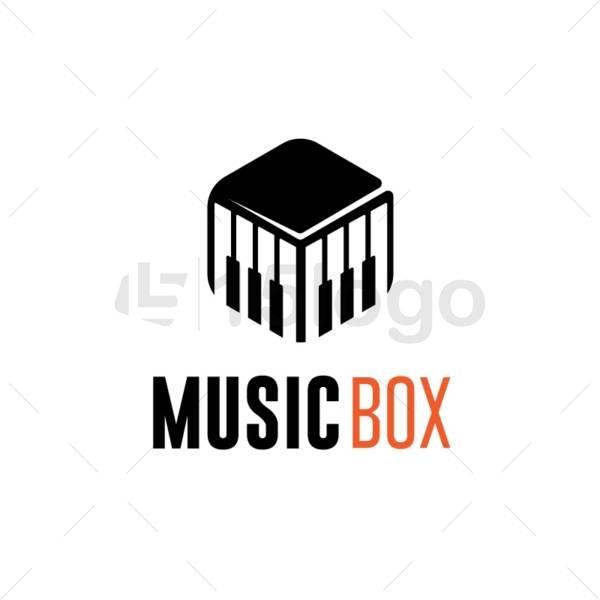 music box online logo design