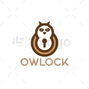 owlock online logo template