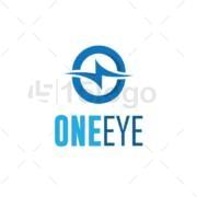one eye onligne logo design