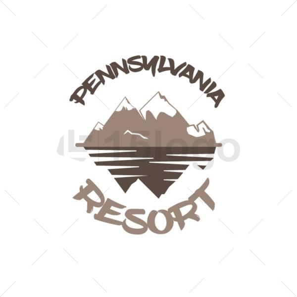 pennsylvania resort logo design
