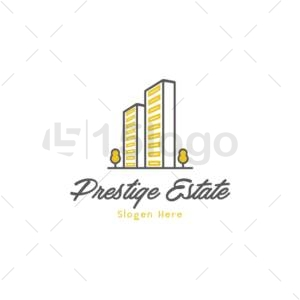 prestige estate logo design