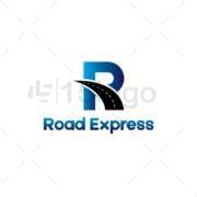 road express logo template