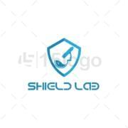 shield lab logo design