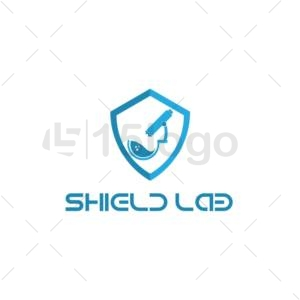 shield lab logo design